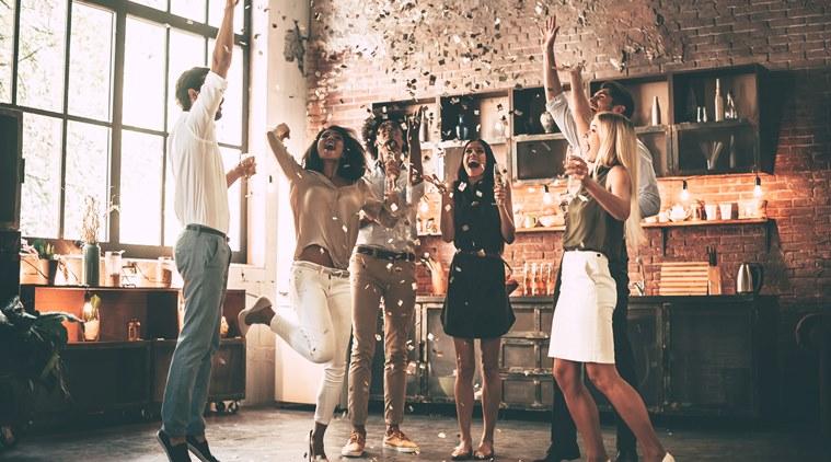 Pop Confetti At Mid Night